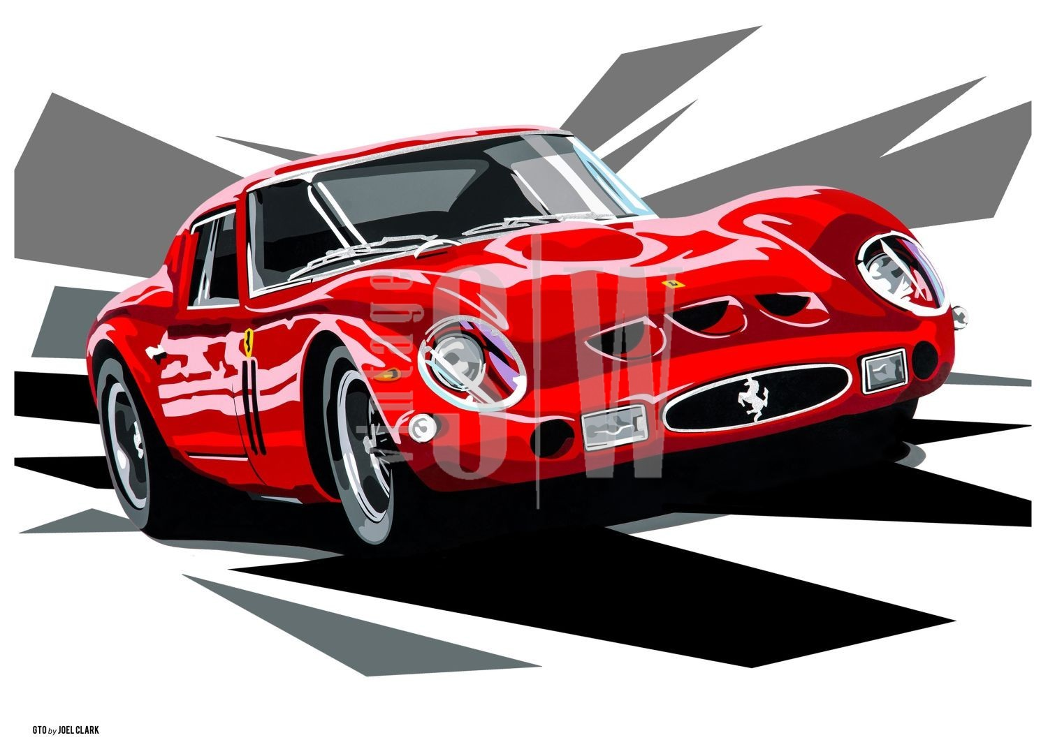 ferrari by digital art shevchuk automotive raikkonen racing kimi featured yuriy car